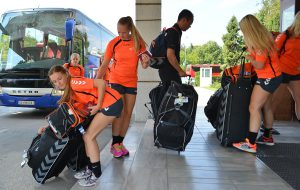 Teams of Norway, Netherlands and Hungary made themselves comfortable in Skopje